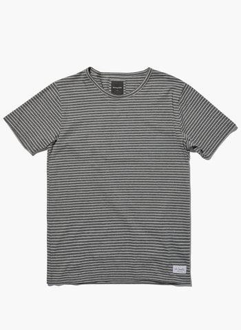 Barney Cools - B.Loved Slub T Grey Stripe