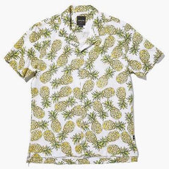 Barney Cools - Camp-Collar SS Shirt Pineapple