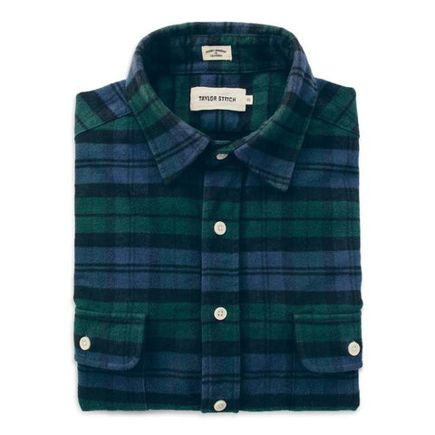 Taylor Stitch - Yosemite Shirt <br> Blackwatch Plaid
