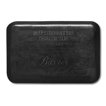 Baxter of California - Deep Cleansing Bar Charcoal Clay