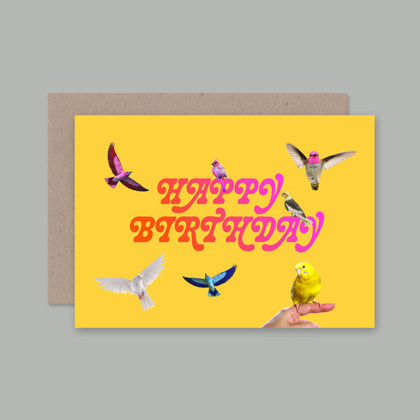 AHD Paper Co. - Birthday Birds Greeting Card