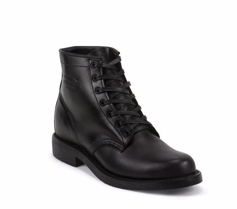 Chippewa - 6 inch General Utility Boots <br> Black
