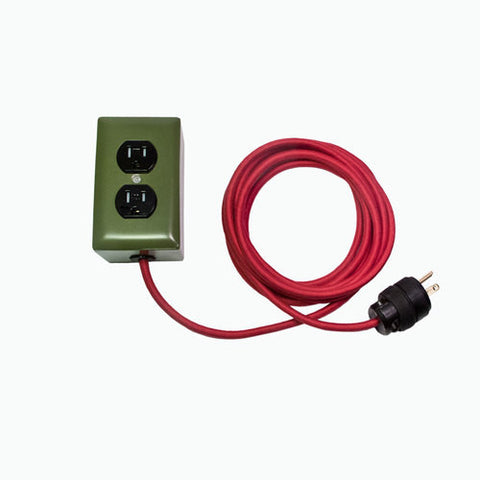 Conway Electric <br> Extō 2 Power Cord<br>4077th Green<br>Dual