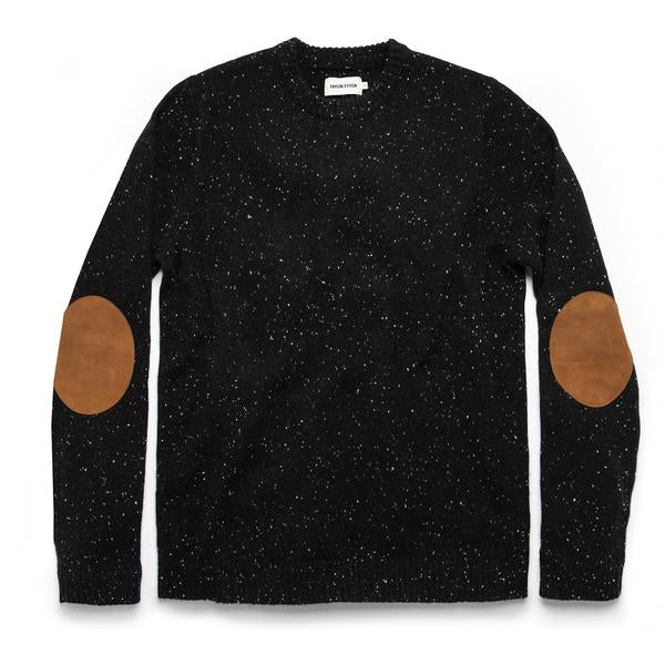 Taylor Stitch - Hardtack Sweater - Black Yak Donegal