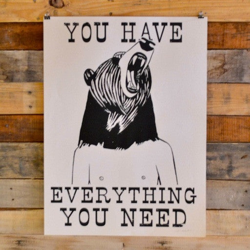You Have Everything You Need <br>Print by Deedee Cheriel