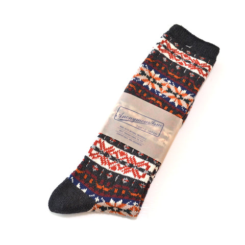 Anonymous Ism - Knit Socks Holiday Oak Green