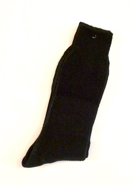 Anonymous Ism - Knit Socks Float Layer Crew Black & Grey