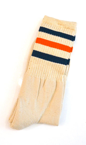 Anonymous Ism - Knit Socks Go Hemp 2 Line Crew Orange & Blue