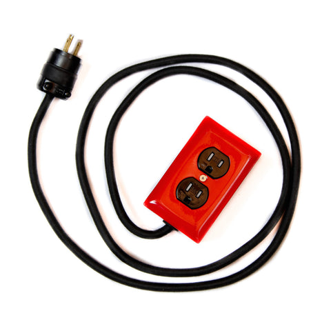 Conway Electric<br>Extō 2 Power Cord<br>Red/Charcoal - Dual
