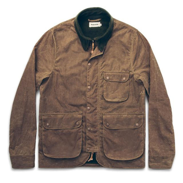 Taylor Stitch - Rover Jacket<br>Field Tan Waxed Canvas