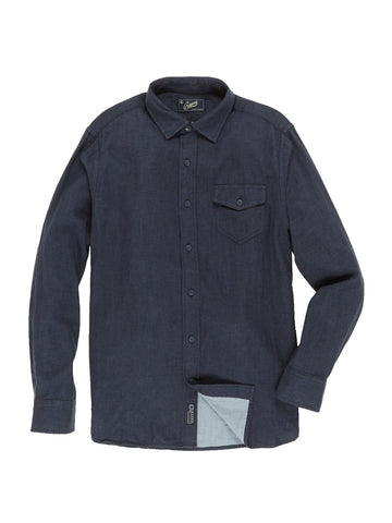 Grayers - Hattox Shirt <br>Navy Heather