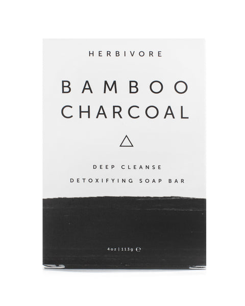 Herbivore Botanicals Bamboo Charcoal Cleansing Soap Bar