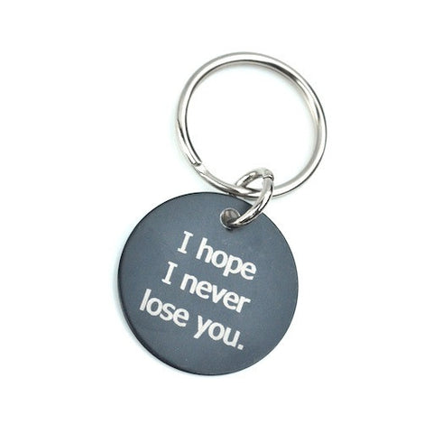 Hemingway and Pickett - I Hope I Never Lose You Keychain
