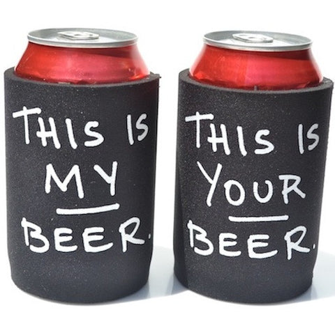 Drinkin' Buddies<br>Koozie Set (2) Your Beer / My Beer