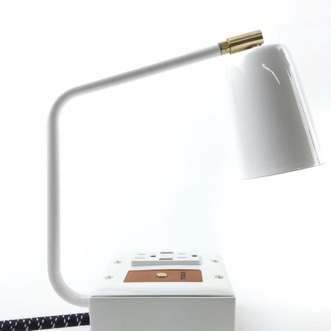 Conway Electric<br> JAX Touch USB Task Lamp - Aspen White