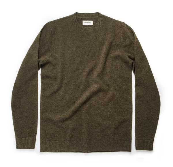 Taylor Stitch - Lodge Sweater in Army Green