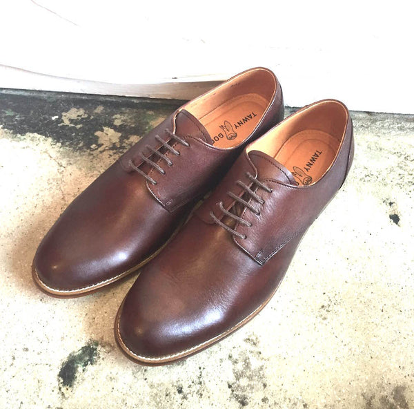 Tawny Goods - Oxford Derby Shoe <br> Brown