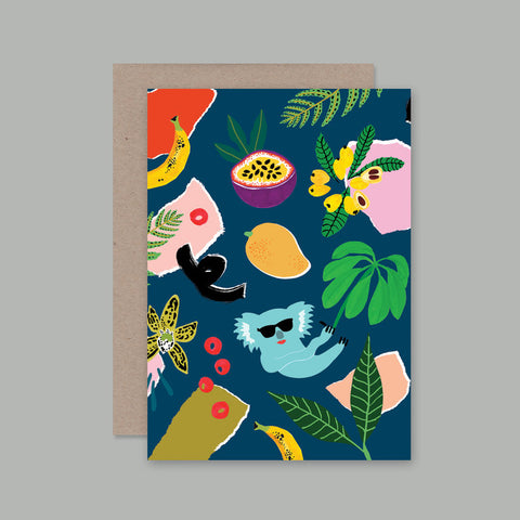 AHD Paper Co. - Koala Picnic Greeting Card