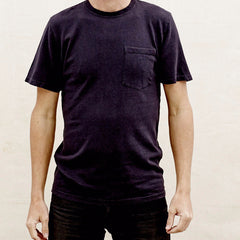 Jungmaven - 100% Hemp 6.8oz T Shirt <br>Washed Navy