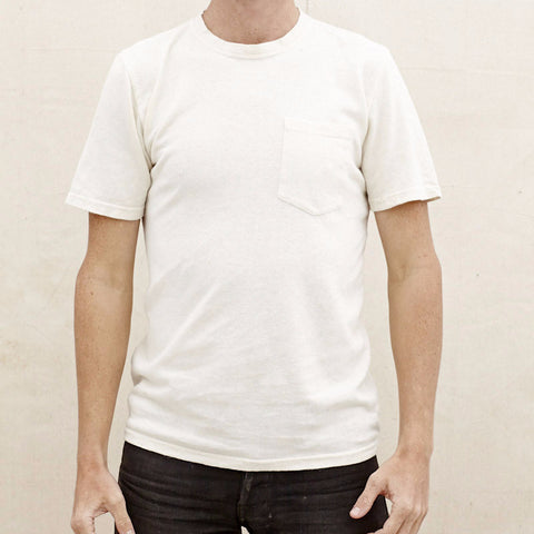 Jungmaven - 100% Hemp Tee <br>Washed White