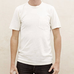 Jungmaven - 100% Hemp 6.8oz T Shirt <br>Washed White
