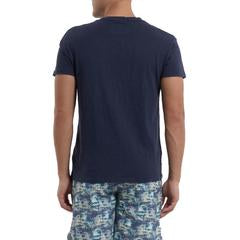 Grayers - Madison Jaspe Loose Knit Pocket Tee - Blue Night