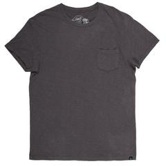 Grayers - Madison Jaspe Loose Knit Pocket Tee - Forged Iron