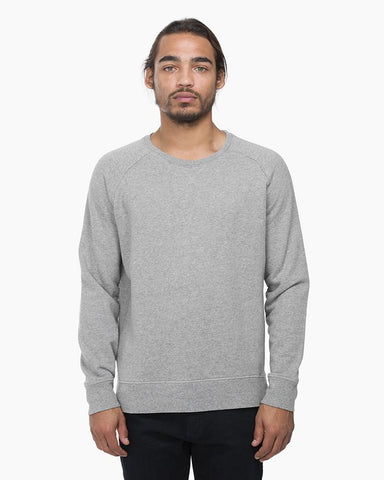 Richer Poorer - Crew Sweatshirt Heather Grey
