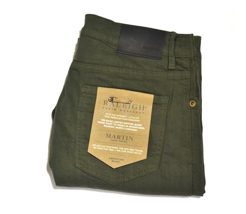 Raleigh - 'Martin' Jeans (Jungle green)