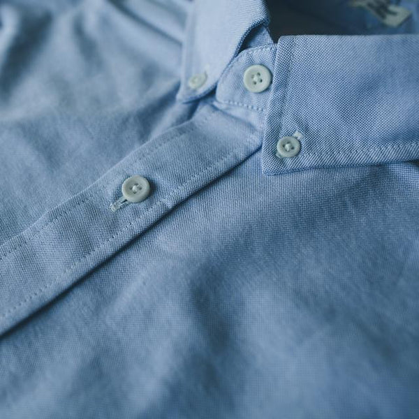 Taylor Stitch - Oxford Jack Shirt <br>Blue