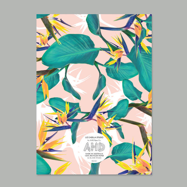 AHD Paper Co. 'Birds of Paradise' Notebook