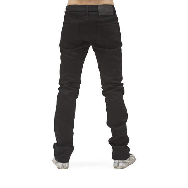 Naked & Famous - Skinny Guy Jeans <br>Black Power-Stretch