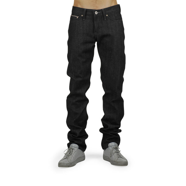 Naked & Famous - Weird Guy Jeans <br>Black Selvedge