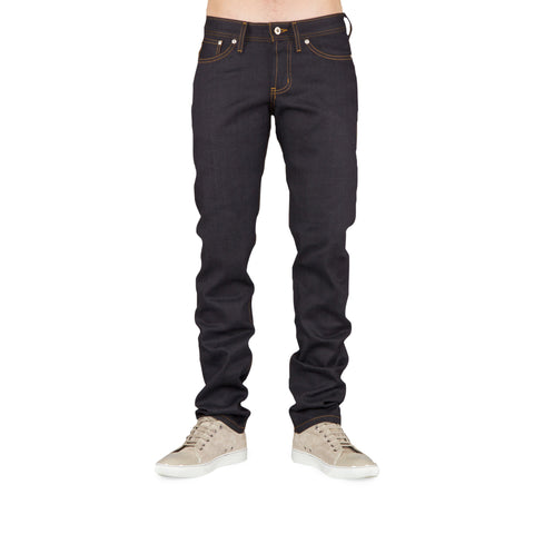Naked & Famous - Weird Guy Jeans <br>Deep Indigo Stretch Selvedge
