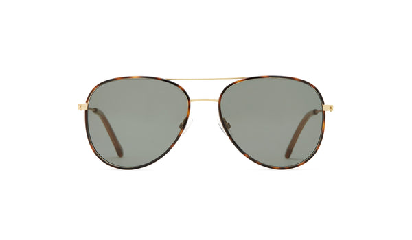 Article One - North Sunglasses Gold Havana