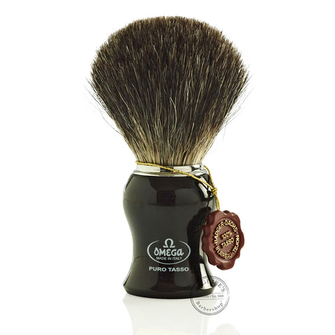 Omega - 100% Badger Shaving Brush