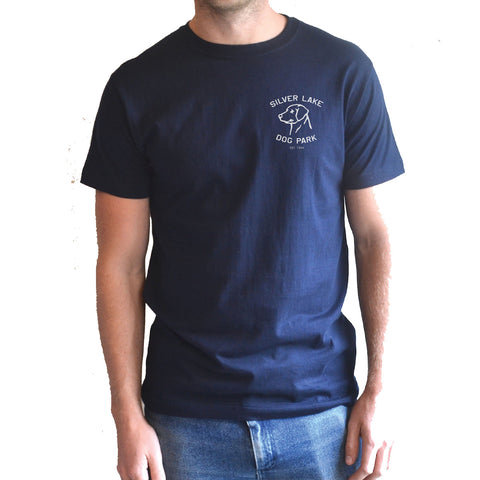 Hemingway and Sons - Silver Lake Dog Park Tee Navy