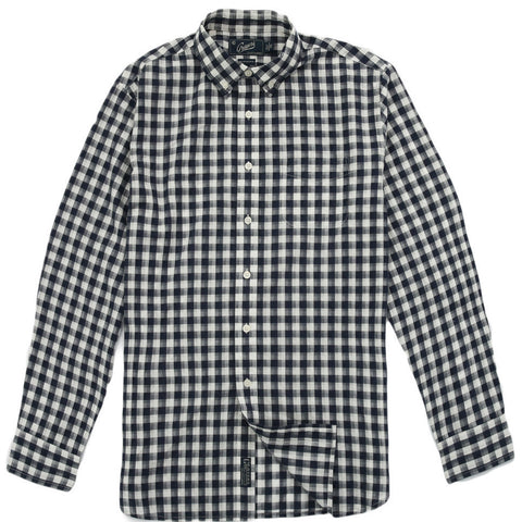 Grayers - Grange Shadow Gingham Shirt Navy