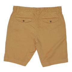 "Grayers - Bermuda Stretch Cotton Linen Shorts 9"" - Indian Tan"