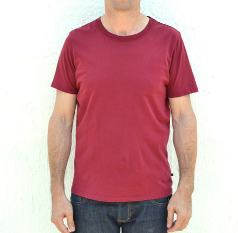 Hemingway and Sons <br>The Silver Lake T Burgundy
