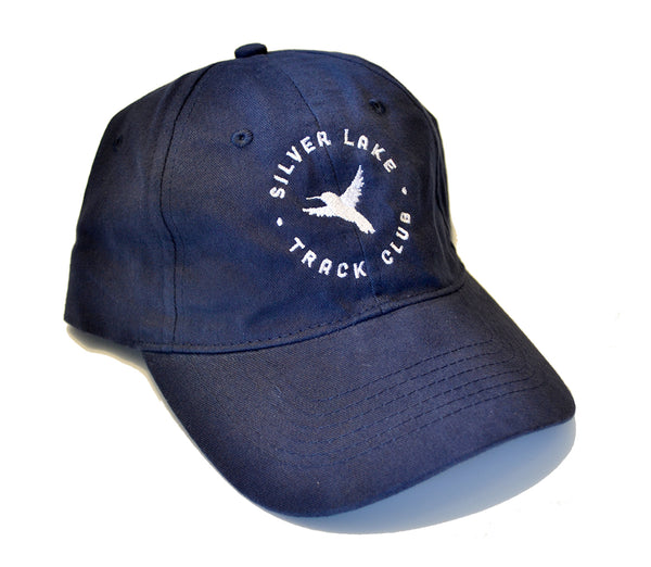 "Silver Lake Track Club - ""Hummingbird"" Dad Cap (Navy)"