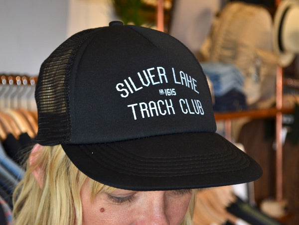 "Silver Lake Track Club - ""Armstrong"" Cap (Black)"