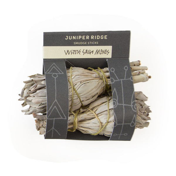 Juniper Ridge - White Sage Mini Smudge Sticks