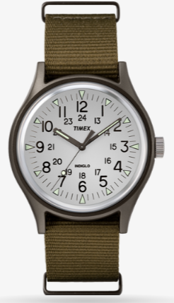 Timex MK1 Aluminum 40mm Nylon Watch