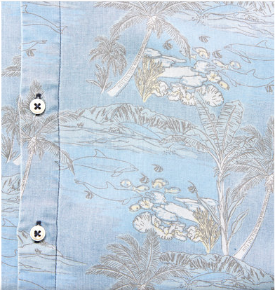 Barney Cools - Holiday Short Sleeve - Indigo Dolphins