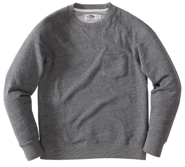 Grayers - Palmer Athletic Fleece Crew Sweatshirt - Charcoal Marl