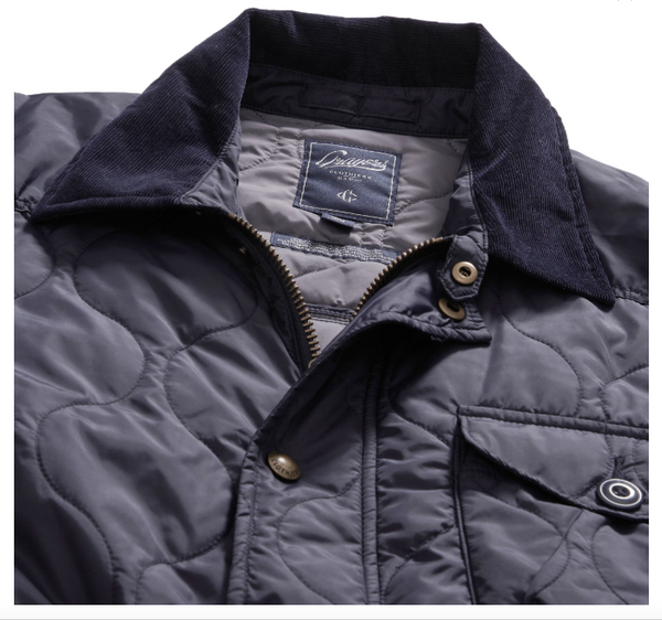 Grayers - Andrew Quilted Jacket Navy