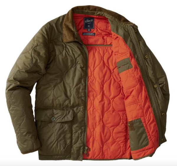 Grayers - Andrew Quilted Jacket Olive