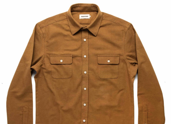 Taylor Stitch - Yosemite Shirt <br> British Khaki