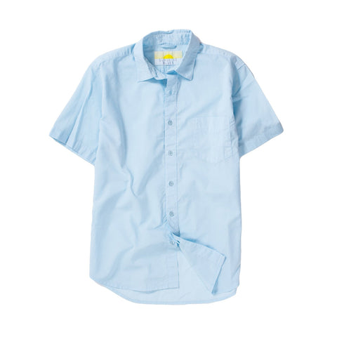 Sunshine Blues - Cambric SS Shirt Serenity Blue